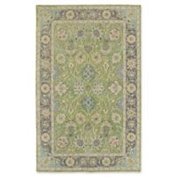 Kaleen Weathered Quatif Indoor/Outdoor 5-Foot x 7-Foot 6-Inch Area Rug in Green