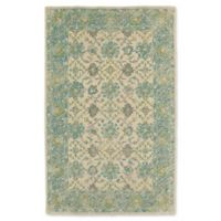 Kaleen Weathered Laft Indoor/Outdoor 9-Foot x 12-Foot Area Rug in Teal