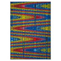 Safavieh Aztec-Inspired Patli 5-Foot 1-Inch x 7-Foot 6-Inch Area Rug in Blue