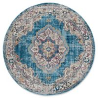 Safavieh Bristol Bella 7-Foot Round Area Rug in Blue