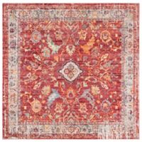 Safavieh Bristol Samara 7-Foot Square Area Rug in Rose
