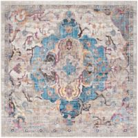 Safavieh Bristol Olivia 7-Foot Square Area Rug in Blue