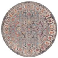 Safavieh Bristol Heather 7-Foot Round Area Rug in Grey