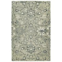 Kaleen Chancellor Sultan 5' x 7'9 Hand-Tufted Area Rug in Grey