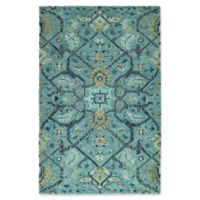 Kaleen Chancellor Regal 9' x 12' Hand-Tufted Area Rug in Blue