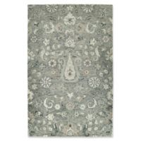 Kaleen Chancellor Peshawar 9' x 12' Hand-Tufted Area Rug in Grey