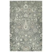 Kaleen Chancellor Peshawar 10' x 14' Hand-Tufted Area Rug in Grey