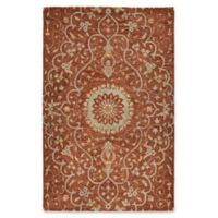 Kaleen Chancellor Raja 9' x 12' Hand-Tufted Area Rug in Brick