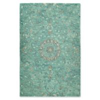 Kaleen Chancellor Raja 10' x 14' Hand-Tufted Area Rug in Turquoise