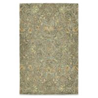 Kaleen Chancellor Kashan 9' x 12' Hand-Tufted Area Rug in Taupe