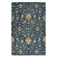 Kaleen Chancellor Kashan 9' x 12' Hand-Tufted Area Rug in Denim
