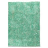 Kaleen It's So Fabulous 5' x 7' Shag Area Rug in Turquoise