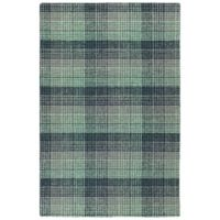 Kaleen Sartorial Yale 2' x 3' Accent Rug in Turquoise