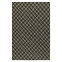 Kaleen Sartorial Harvard 5' x 7'9 Area Rug in Charcoal