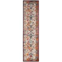 Safavieh Baldwin 2-Foot 2-Inch x 8-Foot Harvey Rug in Ivory