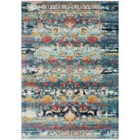 Safavieh Baldwin 4-Foot x 6-Foot Edna Rug in Teal