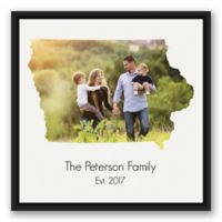 Designs Direct Iowa 20-Inch Square Framed Wall Art