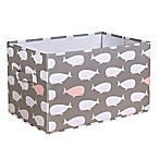 Lush Décor Pink Whale Small Collapsible Storage Box (Set of 3)