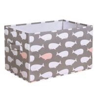 Lush Décor Pink Whale Large Collapsible Storage Box (Set of 3)