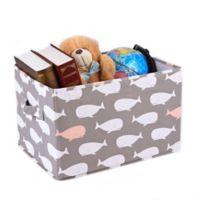 Lush Décor Pink Whale Medium Collapsible Storage Box (Set of 3)