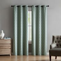 VCNY Home Jade 84-Inch Grommet Top Window Curtain Panel Pair in Sage