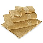 Turkish Modal Hand Towel in Mustard
