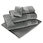 Turkish Modal Hand Towel in Charcoal