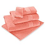 Turkish Modal Washcloth in Peach