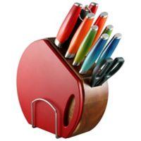 Fiesta® 12-Piece Ombre Knife Block Set