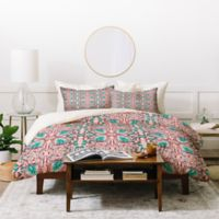 Deny Designs Holli Zollinger Maia Twin Duvet Cover Set in Pink
