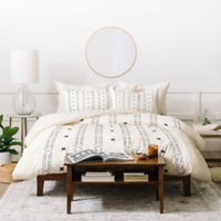 Deny Designs Holli Zollinger Maia Twin Duvet Cover Set in Black