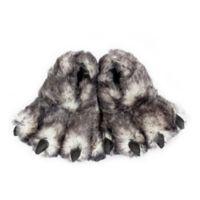 Wishpets Wolf Paw Size Medium Slippers