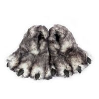 Wishpets Wolf Paw Size Large Slippers