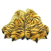 Wishpets Size Medium 12-Inch Furry Bengal Tiger Slippers