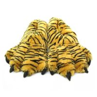 Wishpets Size Large 15-Inch Furry Bengal Tiger Slippers