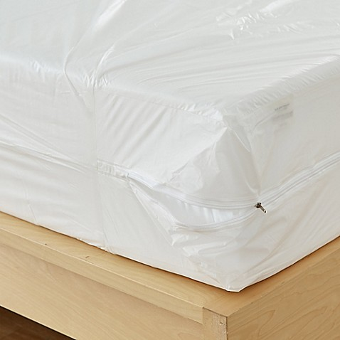 Bedbug Solution Vinyl Zip Mattress Box Spring Protectors