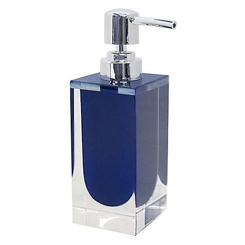 Memphis Lotion Dispenser In Nautical Blue Bed Bath Amp Beyond