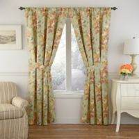Waverly® Spring Bling 63-Inch Room Darkening Window Curtain Panel in Vapor