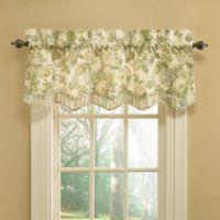 Waverly® Spring Bling Room Darkening Window Valance in Platinum