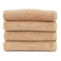 Linum Home Textiles Soft Twist Hand Towels in Sand (Set of 4)