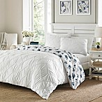 Stone Cottage Hillberry Reversible Full/Queen Comforter in White