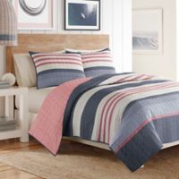 Nautica® Angler Reversible Full/Queen Quilt in Blue