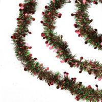 Northlight 50-Foot Polka Dot Christmas Garland in Red/Green