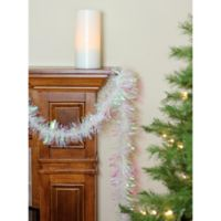 Northlight 50-Foot Classic Christmas Garland in White