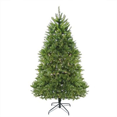 Exceptional Northlight 6.5 Foot Pre Lit Artificial Christmas Tree With Clear LED Lights