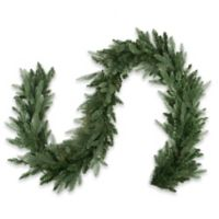 Northlight 9-Foot x 12-Inch Washington Garland in Green