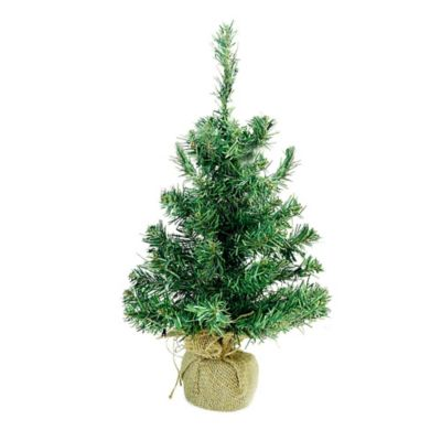 northlight 18 inch pre lit christmas tree with warm white led lights - Small White Christmas Trees