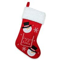 Northlight Embroidered Letter to Santa Christmas Stocking
