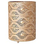 Elements Gold Filigree Metal Luminary