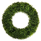 Pure Garden 20-Inch Round Grass Wreath